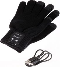 Bluetooth-гарнитура Qumo Talking Gloves M Black